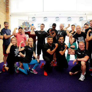 Members of the 2017 D4MH Chicago Anytime Fitness